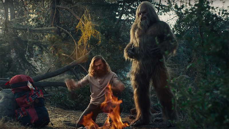 Running with Sasquatch - Jack Links